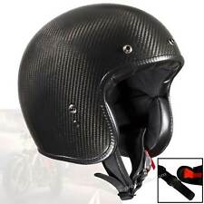 Bandit ECE 22-05 Carbon open face helmet homologated certified small construct