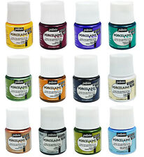 Pebeo PORCELAINE 150 Oven Dishwasher Safe Ceramic China Paint 45ml - All Colours