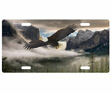 CUSTOM PERSONALIZED METAL LICENSE PLATE-BALD EAGLE IN YOSEMITE VALLEY