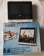Authentic Coby TFDVD7052 7-Inch Portable Tablet DVD/CD/MP3 Player - PLEASE READ