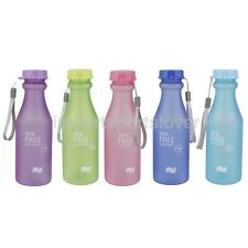 550ml Sport Portable Camping Cycling Travel Unbreakable Drinking Water Bottle