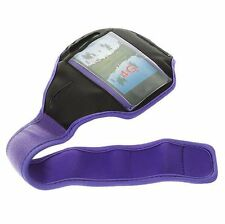 Purple Running Sport Armband GYM Skin Case Cover for Samsung Galaxy Phones 2016