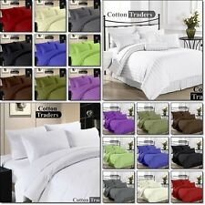 Hotel Collection Sheet 3pc Fitted Set 100%Egyptian Cotton 1000TC All Size &Color