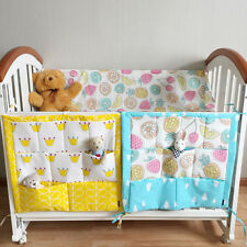 1pc Baby crib cot diaper toy hanging bag mulit-fuction Storage Bag nursery decor
