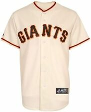 San Francisco Giants MLB Majestic Mens Ivory Replica Jersey Big & Tall Sizes