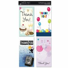 16 x Thank You Cards 4 Different Designs to Choose from  - 4395