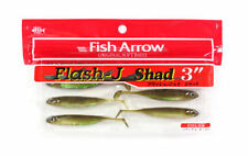 "#26 FISH ARROW FLASH J-SHAD 3"" soft Realistic Scented Salty lure ZANDER PIKE 7pc"