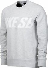NIKE SB CREW HEATHER GREY SWEATSHIRT JUMPER FREE POST AUST SELLER 051