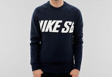 NIKE SB CREW NAVY SWEATSHIRT JUMPER FREE POST AUST SELLER 051