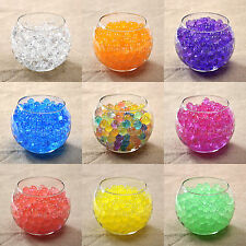 50 Bags Magic Crystal Mud Soil Water Beads Jelly Flower Planting Wedding Decor