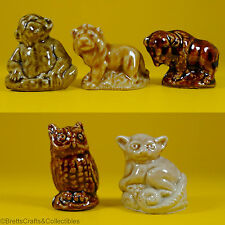 Wade Whimsies Figurines (1983/85 Set #1) USA Red Rose Tea Animals - Selection A