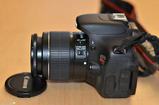 MINT Canon EOS Rebel T3i 18.0 MP SLR w/ EF-S IS II 18-55mm IS (3 LENSES)