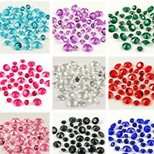 2000x 4.5mm 1/3ct Wedding Party Decoration Table Confetti Crystals Diamond Decor
