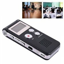 Digital Rechargeable Dictaphone Telephone MP3 Player Audio Voice Recorder Useful