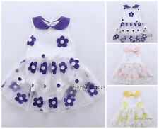 1pc baby  infant girl clothes baby girl summer dress baby bodysuit flower