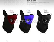 Neoprene Winter Neck Warm Face Mask Veil Shield Sports Motorcycle Ski Bike CIK