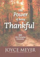 Power of Being Thankful by Joyce Meyer Paperback Book