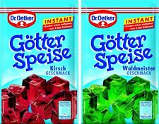Dr. Oetker - Real German Jelly Dessert Instant - Pick you flavor - Goetterspeise