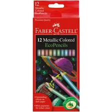 SCHOOL SUPPLIES Faber Castell Metallic Colored EcoPencils 12 Pencil Colors
