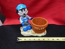 BRAND NEW FELIX THE CAT GARDEN PLANTER CANDY DISH BLUE OVERALLS SPADE STATUE