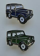 Metal Enamel Pin Badge Brooch Landrover Land Rover Farm Vehicle