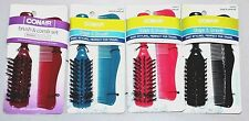 NEW CONAIR Compact Brush & Comb Set, Ideal For Purse Or Travel Choose Color
