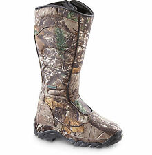 WOMENS Hunting Boots Leather Waterproof SnakeProof Camo Boot Size 6 7 8 9+