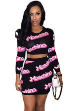 Moschino Print Long Sleeve Skirt Set women summer fall new fashion LC60779
