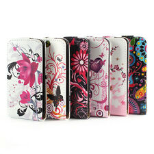 Fashionable Leather Vertical Flip Shell Skin Case Cover Pouch For iPhone 4 4S 4G