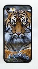 NEW BENGAL TIGER ANIMAL BLACK PHONE CASE COVER FOR IPHONE 7 6S 6 PLUS 5C 5S 5 4S