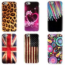 Chic New Flower Zebra Silicone Rubber TPU Soft Skin Case Cover For IPhone 6/6G