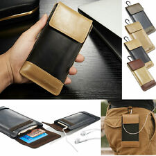 Luxury Leather Wallet Pouch Case Cover Holster For iPhone 4s 5 5s 5SE 6 6S Plus