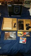 SEGA MULTI MEGA CONSOLE BOXED BUNDLE + 6 GAMES ROAD AVENGER, COBRA, 6 BUTTON