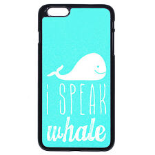 Dory I Speak Whale For iPhone 4 4S 5 5S SE 5C 6/6S 7 Plus iPod Touch 4 5 6 Case