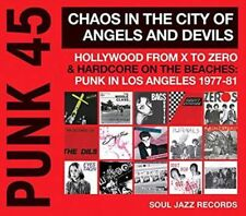 Punk 45: Chaos in the City of Angels & Devils - Soul Jazz Records Presents LP