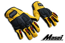 Masei Helmet 105 Yellow Motorcycle & Motocross Bike Glove Vikings Free Shipping