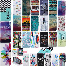 For iPhone 6S Plus SE 5S Phone Case PU Leather Wallet Stand Cover Magnetic Flip