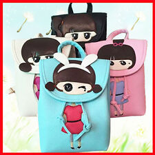 Fashion Girls Baby PU Backpack Package Kid  Lovely Children Cartoon Schoolbag