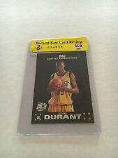 Kevin Durant 2007-08 Topps Rookie Card #112 RC BGS 9.5