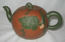 Antique Chinese YIXING Teapot Signed