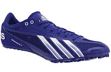 Mens ADIDAS SPRINT STAR 4 IV Track & Field Spikes Cleats Shoes Blue SIZE 11