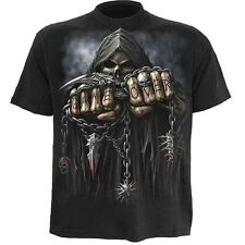 Game Over T-Shirt,Front and Backprint,100%Cotton,fantastic quality,Biker,Gothic