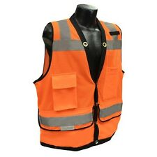Orange Class 2 Heavy Duty Surveyor Safety Vest