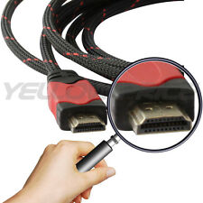 HIGH SPEED ADVANCED HDMI CABLE 3-30FT For BLURAY  DVD PS4 HDTV XBOX LCD TV 1080P