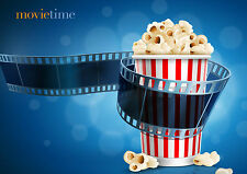 Popcorn Movie Time Cinema Art Large Poster Print Various Sizes Available
