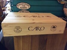Caro Rothschild Argentina Wine Box Crate Ti2315