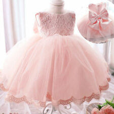 Formal Baby Princess Bridesmaid Floral Girl Kid Wedding Party Pageant Gown Dress
