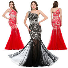 Sexy Ballkleid Mermaid Lace Long Wedding Bridesmaid Evening Prom Party Dresses