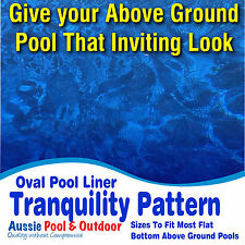 NEW Above Ground Swimming Pool Oval Liner, 5yr warranty, LOTS OF SIZES AVAILABLE
