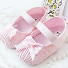 Princess Toddler Baby Crib Soft Sole Walking Shoes Soft Bowknot Infant Prewalker